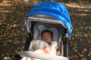 ベビーカーで赤ちゃんとお出かけ