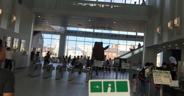 鉄道博物館へ入場