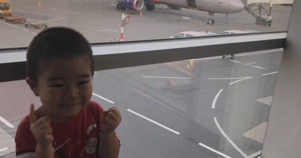 搭乗した飛行機