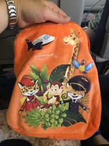 アエロフロートの機内でもらえる子どものおもちゃ